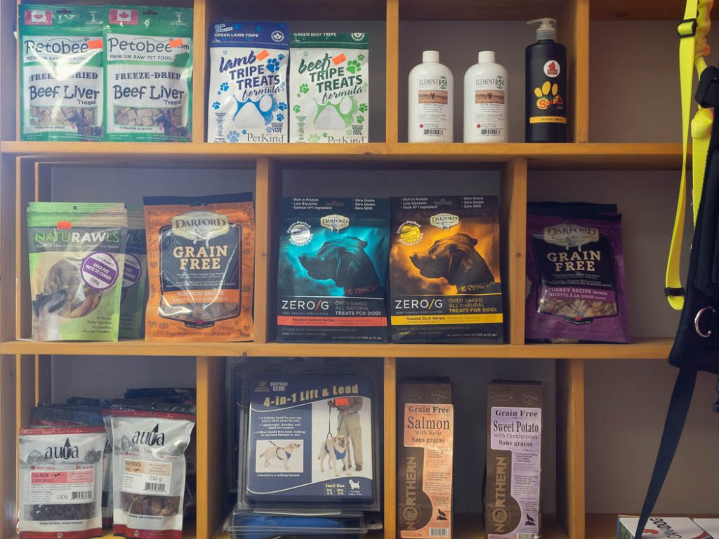 Dog Treats and Pet Care Products
